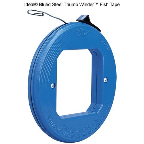 Outil de tirage de câble en acier Thumb Winder